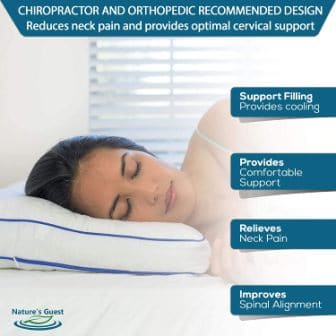 Top 15 Best Cervical Pillows - Guide & Reviews 2020