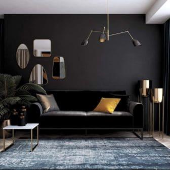 Adley Coil Velvet Futon by CosmoLiving
