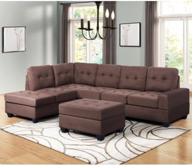 DKLGG Sectional Sofa with Storage