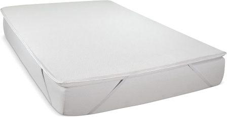 Serenia Sleep Dunlop Latex 2-Inch Easy Flip Mattress Pad Topper