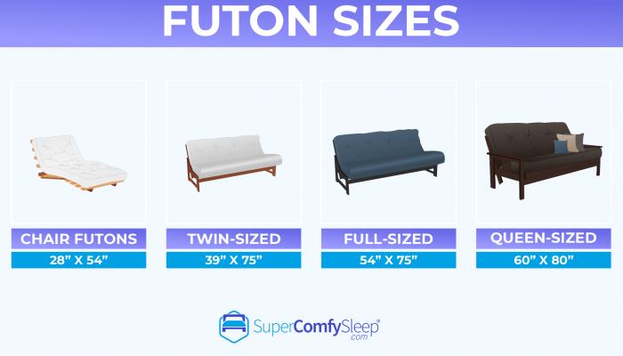 Futon Sizes & Dimensions – Complete Guide